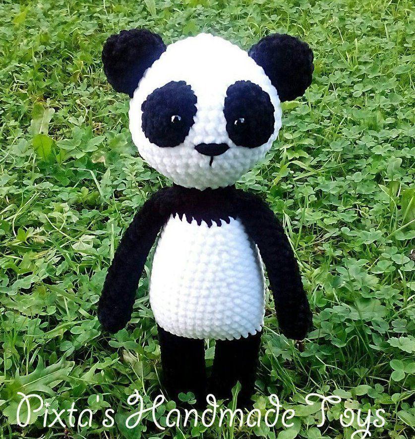Crochet Panda Amigurumi Pattern Amiguroom Toys