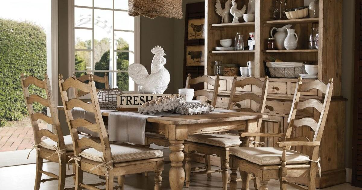 Anderson Solid Wood Dining Table