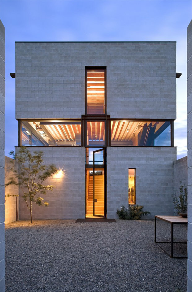 Casa en el desierto olson kundig revista arquitectura for Ventanales grandes de segunda mano