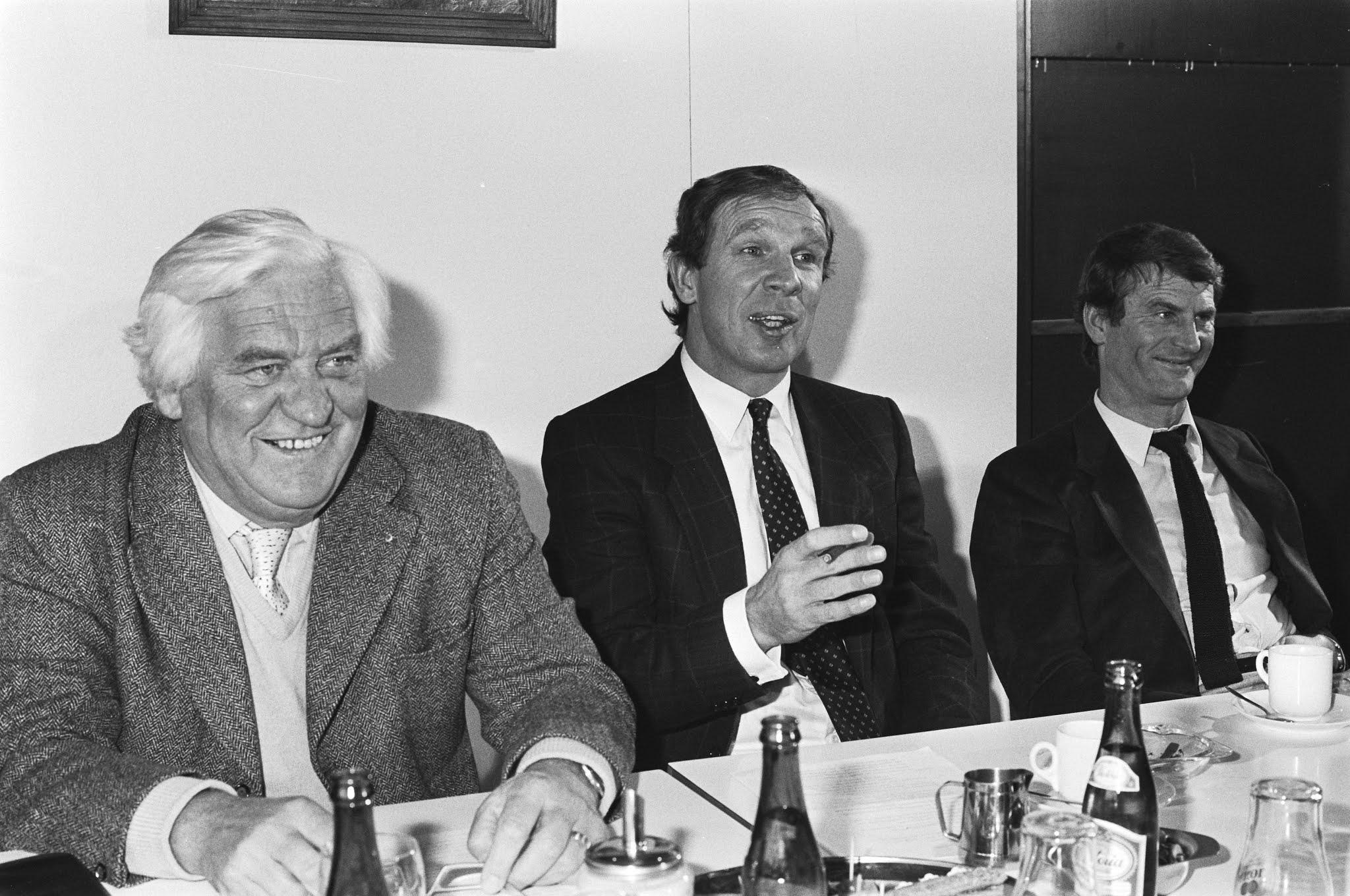 Hans Kraay, Aad van der Laan en Guus Couwenberg