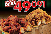 Promo Wingstop Payday Deal 12 Boneless Wings Rp.49.091 Periode 23-31 Maret 2020