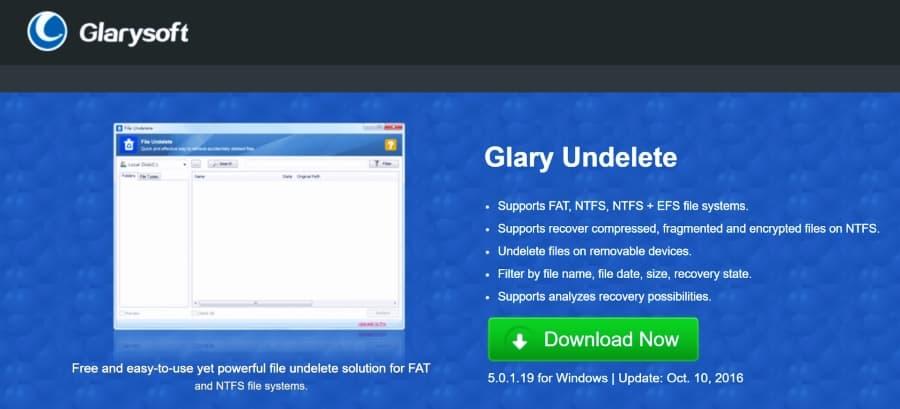 تحميل برنامج Glary Undelete