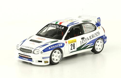 collezione rally monte carlo Toyota Corolla WRC 2000 Pier Lorenzo Zanchi - Dario D'esposito