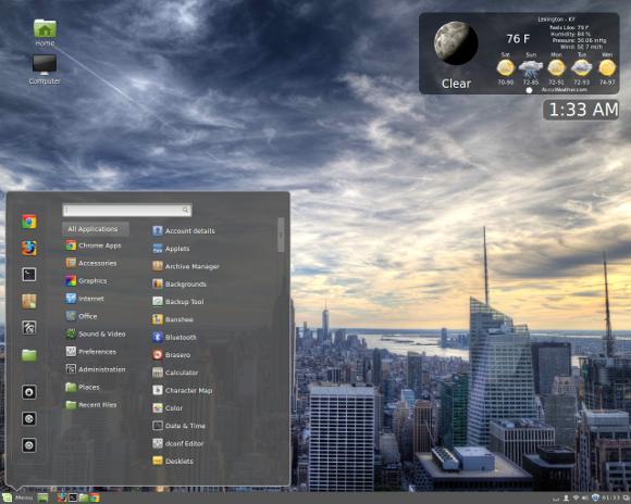 Cinnamon Desktop for Ubuntu
