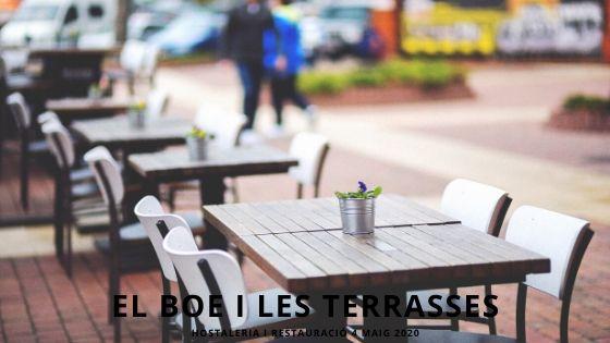 El BOE i les Terrasses Bars i Restaurants