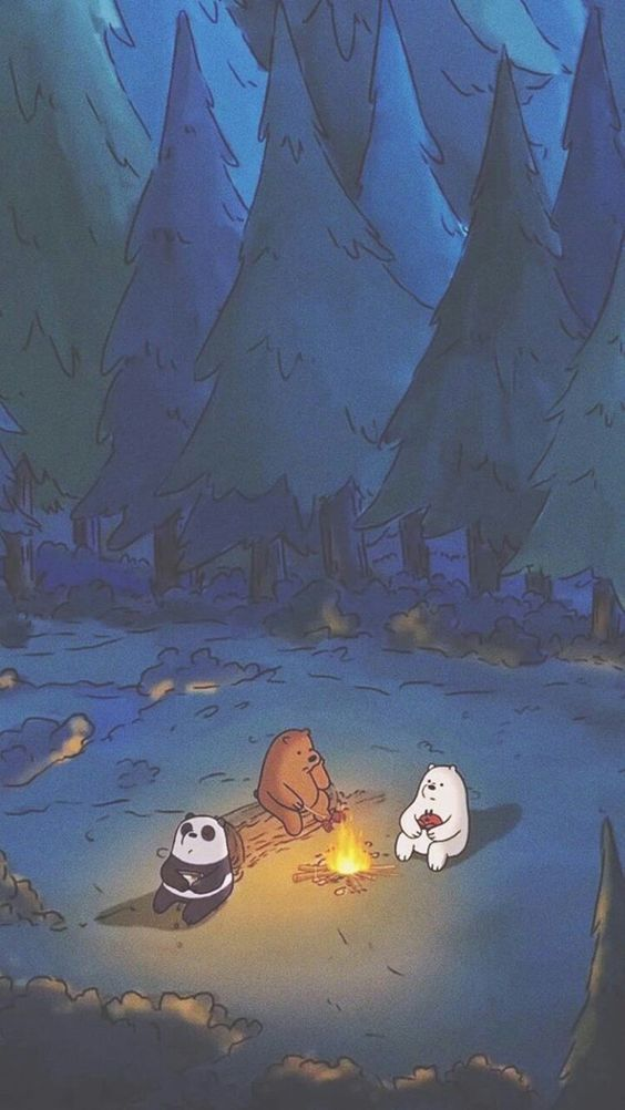Wallpaper we bare bears