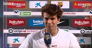 Riqui Puig reveals he has no doubts about his Barcelona future under Koeman