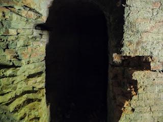 Тараканов. Форт. Вход в тоннель