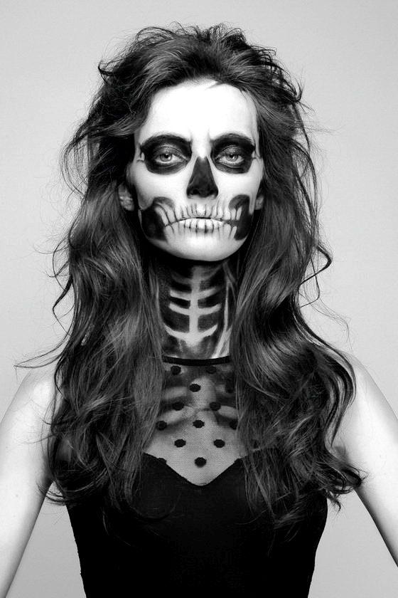 Happy Halloween Day: 24 Skeleton Halloween Makeup Ideas
