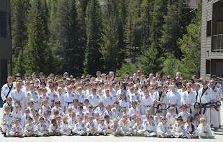 Group photo from the Moo Sul Kwan Summer Expo 34