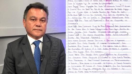 carta apreendida presidio execucao promotor justica