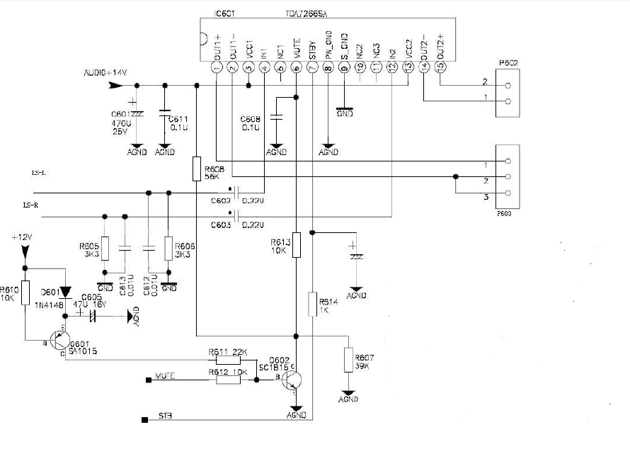 Electronic Technician Support Crt Tv Sound Section Schematic Diagramrhelectronictechniciansupportblogspot: Tv Schematic Diagram At Gmaili.net