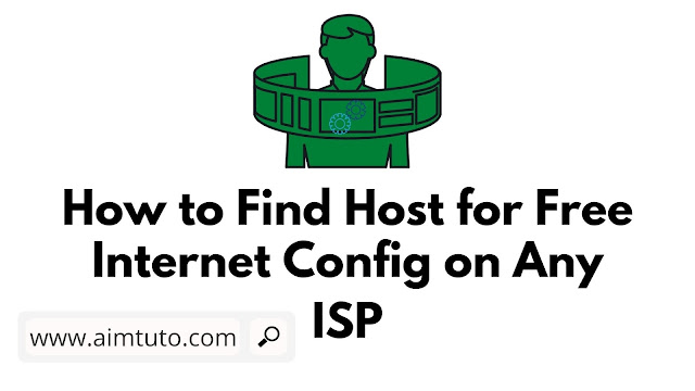 How to Find Bug Host for Free Internet with Any ISP Network