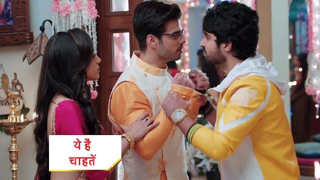Revenge Saga : Rudraksh takes oath over Rajeev's dead body destroys Prisha in Yeh Hai Chahatein