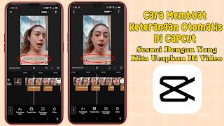 Cara Menambahkan Auto Caption (Keterangan Otomatis) ke Video di CapCut