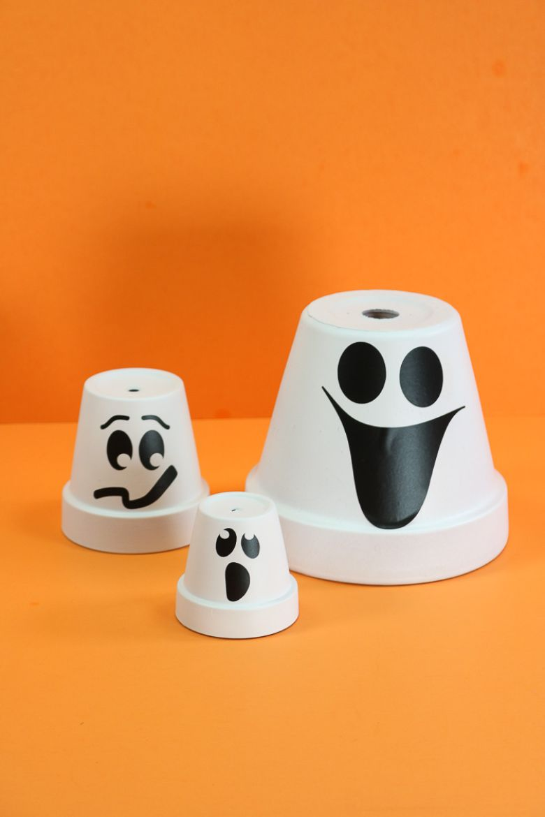 Clay pot ghost craft