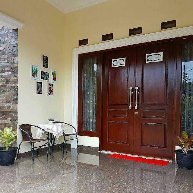 Gambar Desain Pintu Rumah Minimalis 2 Pintu