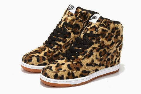 9ff8f5c15241 2014 Dunks Sky High Leopard Wedge Nikes Cool Shoes For Womens