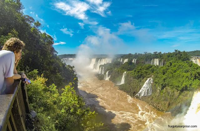 Mirante para as Cataratas do Iguaçu