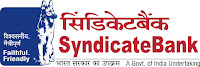 Syndicate Bank, Bank, Graduation, freejobalert, Latest Jobs, Hot Jobs, Manager, syndicate bank logo