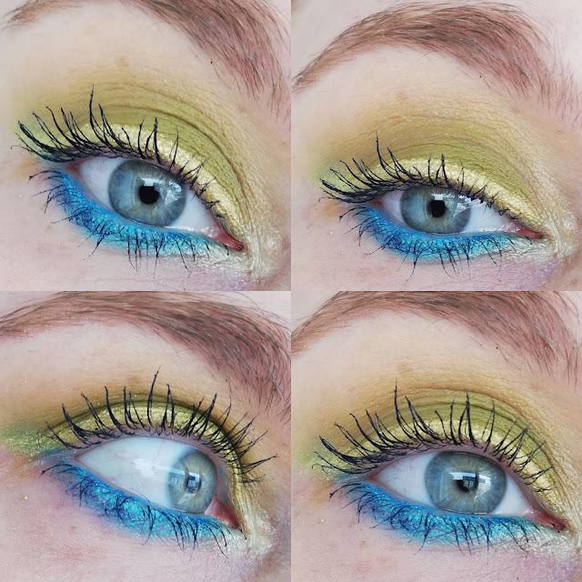 Kolorowy, letni, szybki makijaż paletką Wibo Zmalowana #MYCHOICEWIBO
