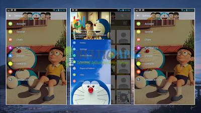 Update BBM Mod Doraemon Versi 3.0.1.25 Apk Terbaru Android 2016