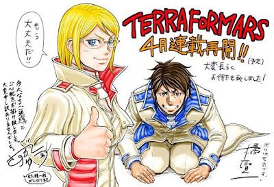 """""""Terra Formars"""" (テラフォーマーズ) de Yuu Sasuga y Kenichi Tachibana regresará en abril."""
