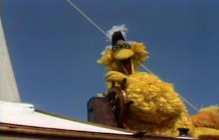 Big Bird sings Admiral Bird. Sesame Street Best of Friends