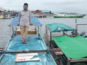 Perahu untuk Kuatkan Dakwah Ustadz Sulaiman di Kepulauan Aru