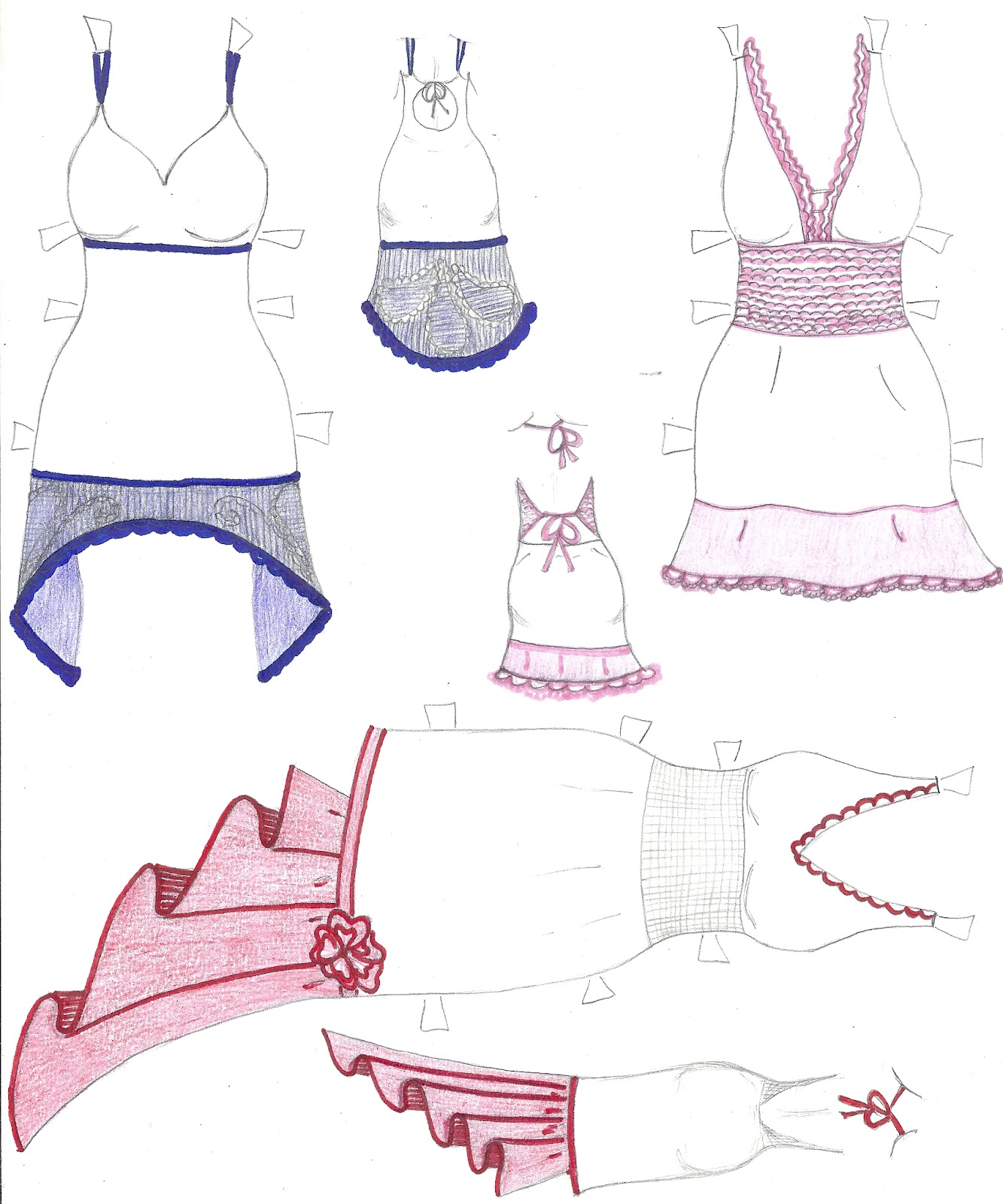 Paper Doll Eve A Girl Dreams Free Facebook Paper Doll Dresses Coloring Page Muneca De