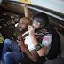 WOW! Singer Banky W, Dabs In The Air While Sky Diving in Dubai [PHOTOS]