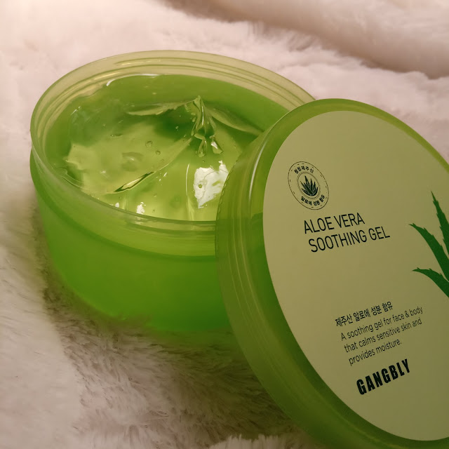 review gangbly aoe vera soothing gel