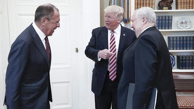 Sergey Lavrov and trump