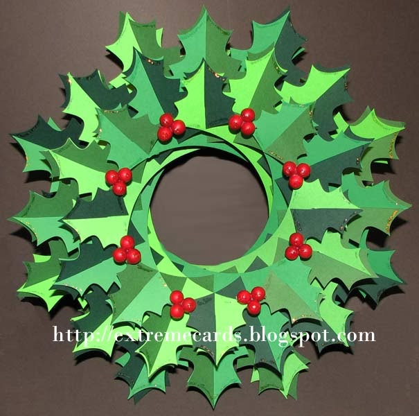 Christmas Wreath Preschool Craft