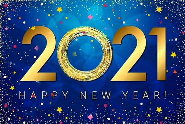 happy new year 2021 سنة جديدة سعيدة