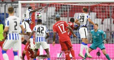 ملخص واهداف مباراة بايرن ميونخ وهيرتا برلين (4-3) الدوري الالماني