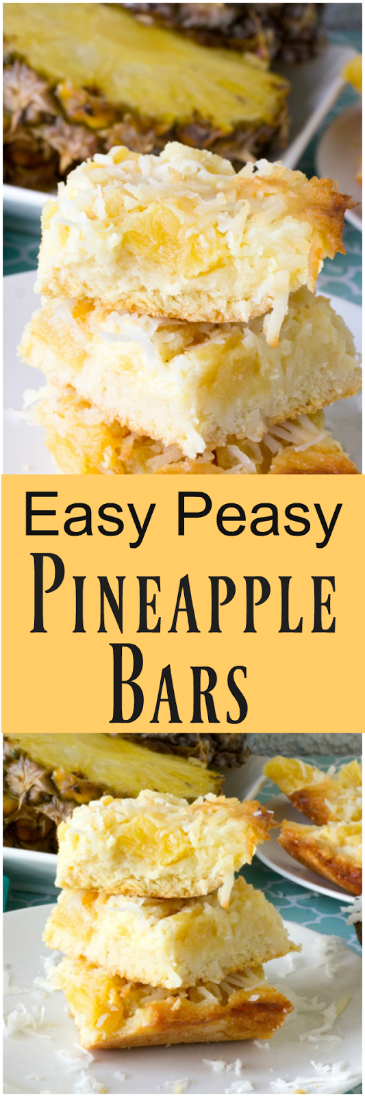 Easy Pineapple Bars