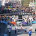 Más de 50 contingentes en desfile de la Revolución en Río Bravo