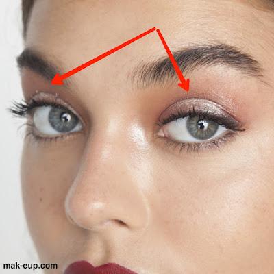 كيفية وضع الكحل لتوسيع العين