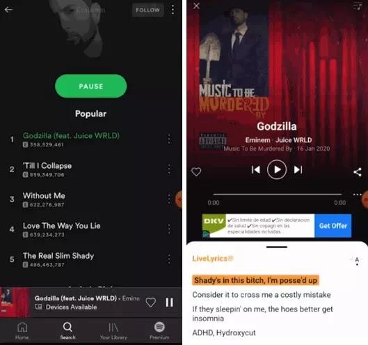 cara menampilkan lirik lagu spotify-2