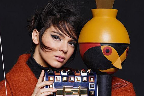 Sensational advertising Fendi with Kendall Jenner: full version