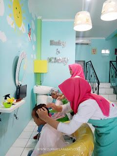 Salon anak di Depok