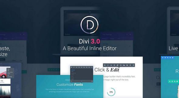 Divi v3.4.1 – The Ultimate WordPress Theme & Visual Page Builder ...