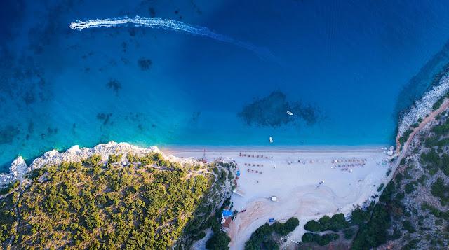 Plaże w Albanii - Gjipe Beach