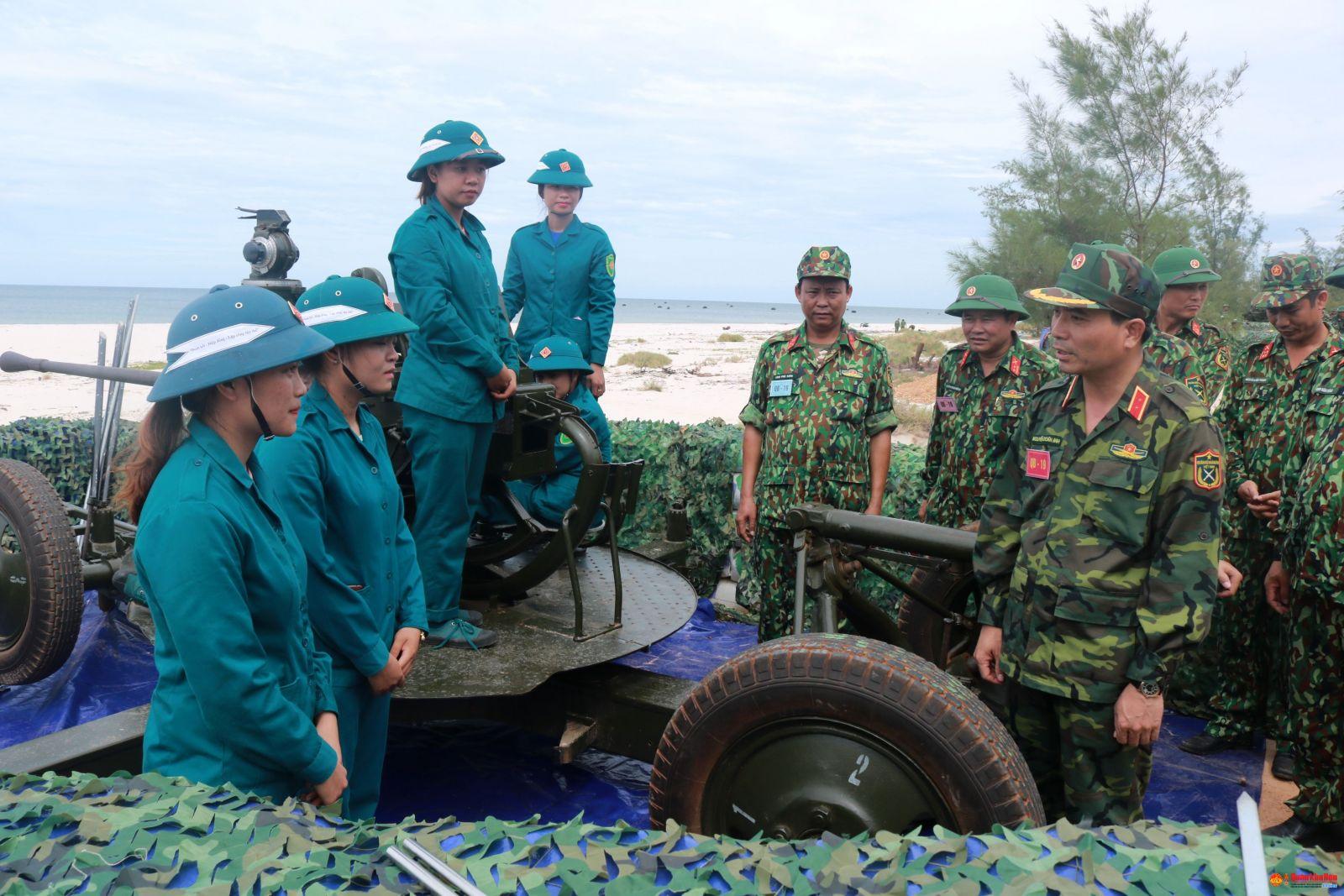 Tư Lệnh Quan Khu 4 động Vien Cac Lực Lượng Tham Gia Thực Binh Diễn Tập Kvpt Tỉnh Quảng Binh Dan Quan Tự Vệ Việt Nam Online