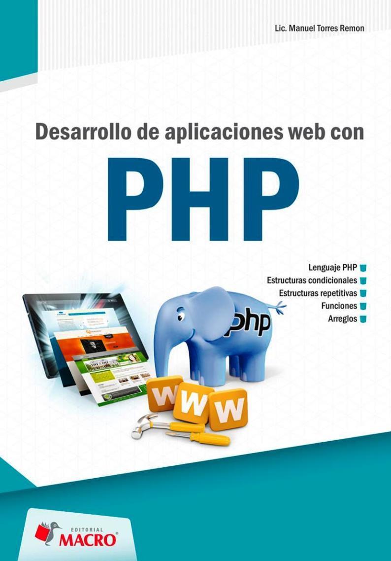 Desarrollo de aplicaciones web con PHP – Manuel Ángel Torres Remon