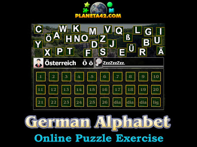 German Alphabet Puzzle