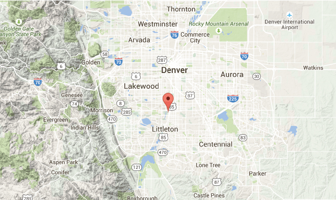 Sheridan Colorado Map.Sciency Thoughts Police Vehicle Swallowed By Sinkhole In Sheridan