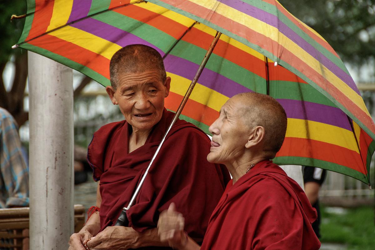 DHARAMSALA- z wizytą u Dalajlamy