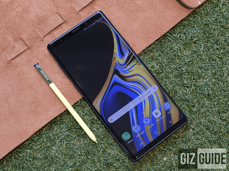 Samsung Galaxy Note 9 is in stores now